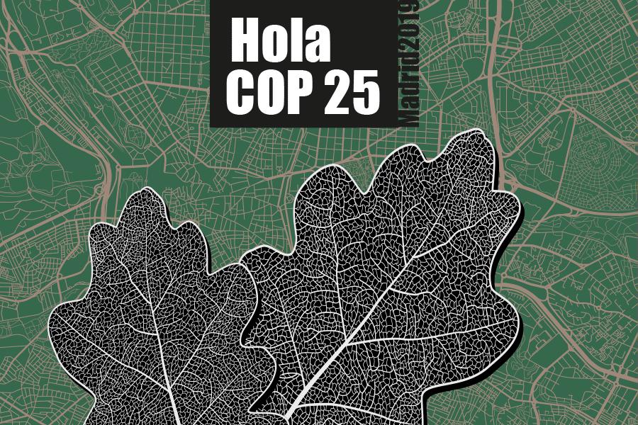 Mapa de Madrid cambio climático
