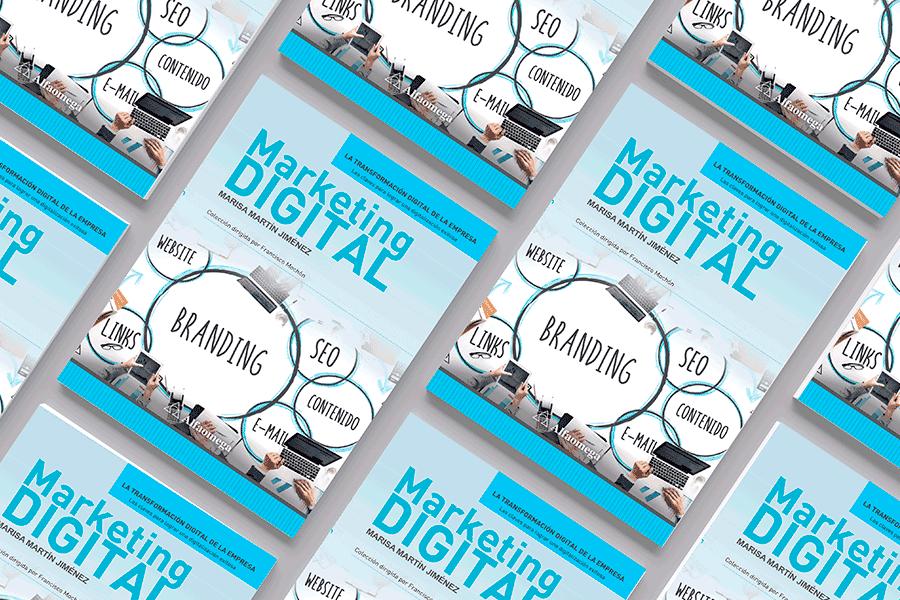 foto libro Marketing Digital de Marisa Martín